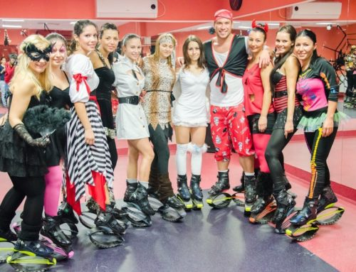Halloween at K FIT – Kangoo Jumps party