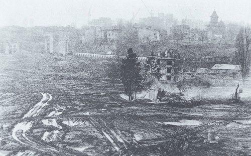 poze fotografii din vechiul Bucuresti - demolarile din perioada Ceausista 14
