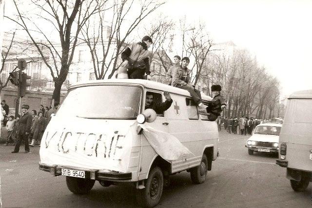 poze fotografii din vechiul Bucuresti - sangeroasa revolutie din 1989 - 3