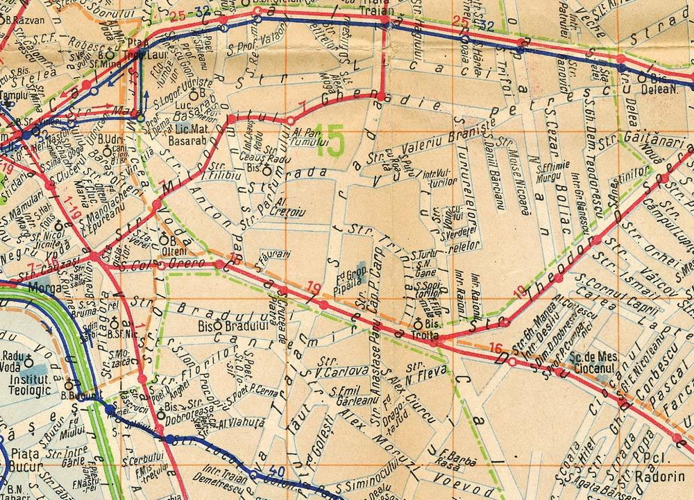 Harta Bucuresti 1940 Strada Trinitatii Resize Cea Mai Mare