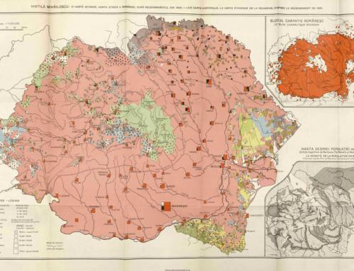 Colectie harti istorice – militare – administrative – etnice ale Romaniei